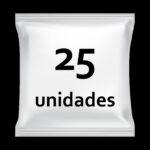 25 unidades