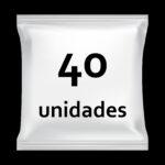 40 unidades
